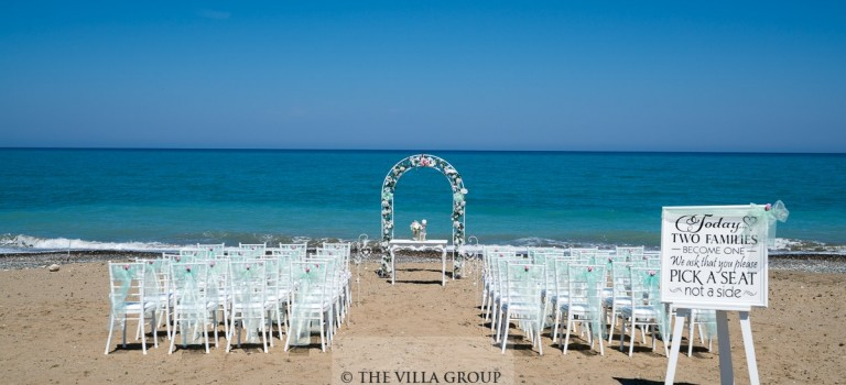 Beach Wedding in Paphos