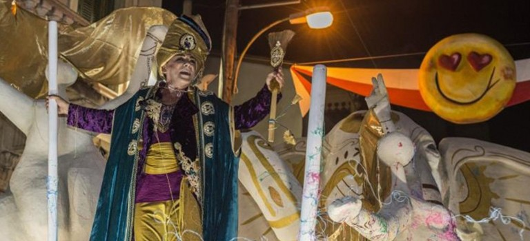 Limassol's carnival King to tour the streets