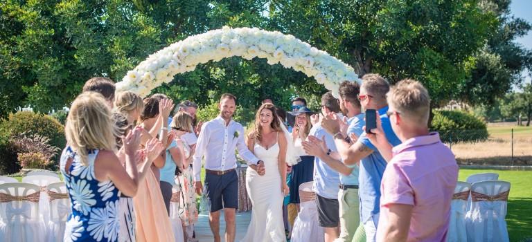 Rebecca & Carl's Luxury Wedding at Villa 487925