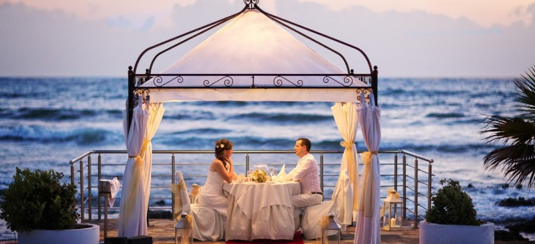 A Romantic Wedding for Two