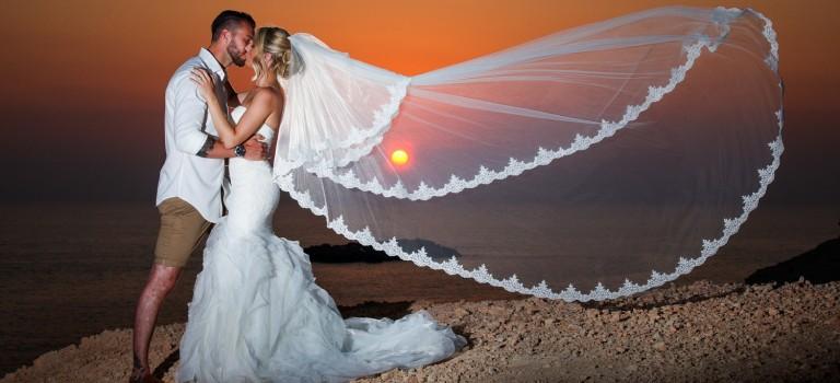 Thomas & Sally's Wedding at Villa 60363 in Coral Bay