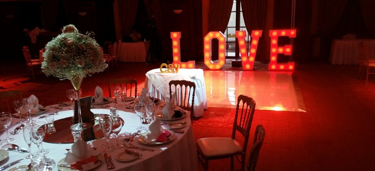 Add Extra Sparkle to Your Wedding Reception