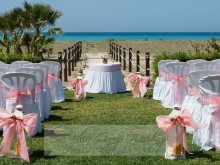 Wedding Reception at the Beach