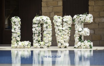 Luxury Beach Front Wedding Villa in Larnaca