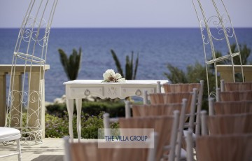 Beach Front Luxury Wedding Villa in Larnaca