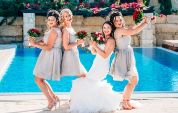Adam & Mellia's Wedding at Villa 88033 Aphrodite Hills