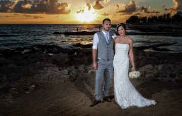 Nathan & Emma's wedding at the Athena Beach Hotel