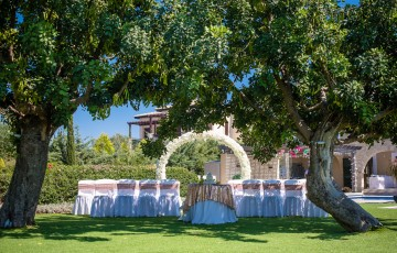 Rebecca & Carl's Luxury Wedding at Villa 487925