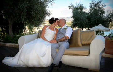 Simon & Laura's Wedding at the Thalassa Hotel