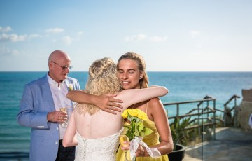 Stephen & Kezia's Wedding at Beachfront Villa 391860
