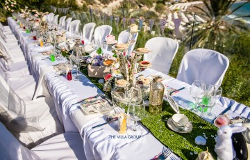 Villa Wedding Reception Inspiration