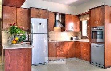 Kitchen equipped with all self-catering needs