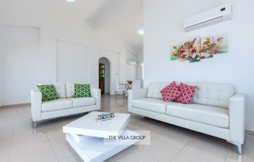 Beautifully furnished living area