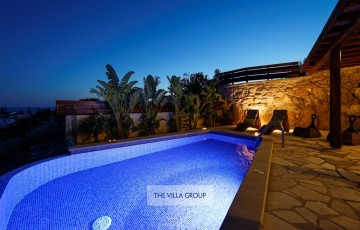 Luxury holiday villa to rent in Pegia, Paphos, nr Coral Bay, Cyprus