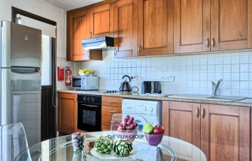 Fully equipped kitchen with all your self-catering needs