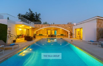 Secluded 3 bedroom villa located in Miliou