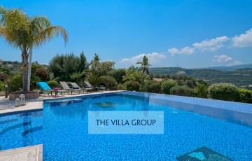 4 bedroom villa nestled in the foothills of the Skoulli mountains