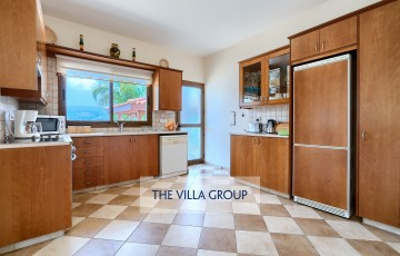Kitchen equipped with all necessary appliances for a self catering villa