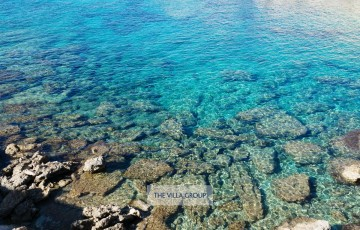 Crystal clear Mediterranean Sea