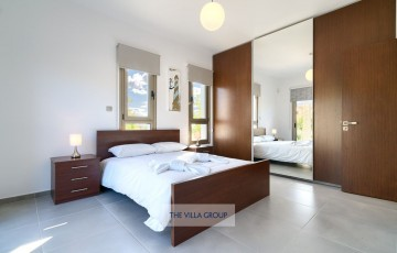 Spacious bedrooms