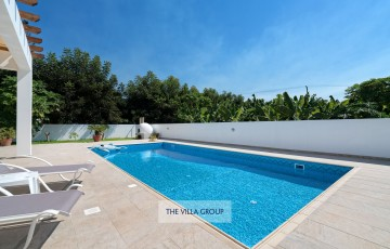 9m x 4m private swimming pool with depths of 0.8m x 1.65m