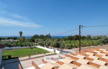 Views of the surrounding countryside and Mediterranean Sea