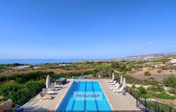 Stunning unobstructed views of the Mediterranean Sea and surrounding areas