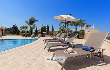 Relax by the swimming pool and enjoy the Cyprus sun