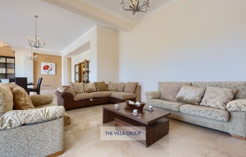 Living area with plenty of comfortable sofas