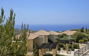 Views of the Mediterranean Sea from the villa