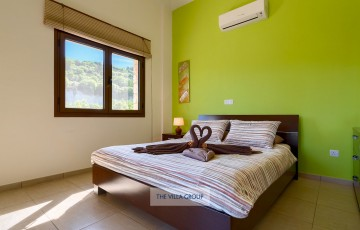 Air conditioning throughout the villa
