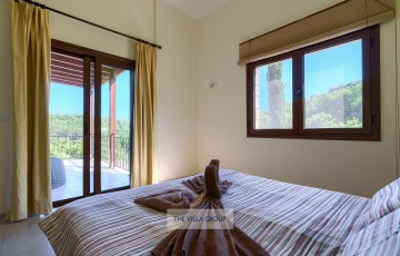 Furnished balcony shared by both first floor bedrooms