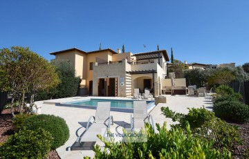 3 bedroom townhouse located on Aphrodite Hills Resort